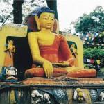 budist kadın heykeli